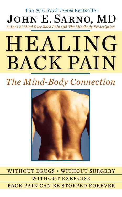 Healing Back Pain By Sarno, John E.